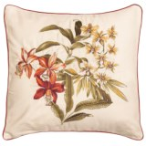 """Tommy Bahama Daintree Embroidered Throw Pillow - 18x18"""""""