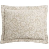 DownTown Geo Matelasse Pillow Sham - Euro, Cotton Percale