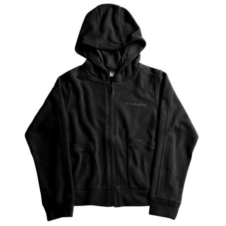 Columbia Sportswear Glacial Fleece II Jacket - Hooded (For Girls)