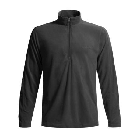 Columbia Sportswear Klamath Range Fleece Shirt - Half Zip, Long Sleeve (For Men)