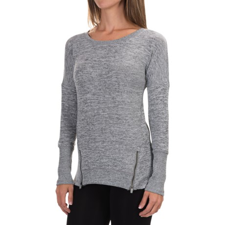 90 Degree by Reflex Zipper Sweater (For Women)