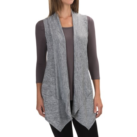 90 Degree by Reflex Open-Front Cardigan Sweater - Sleeveless (For Women)