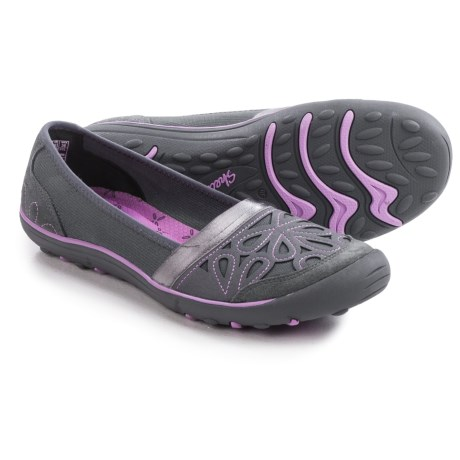 Skechers Earth Fest Repurpose Shoes - Suede, Slip-Ons (For Women)
