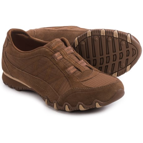Skechers Relaxed Fit Bikers Crossroads Shoes - Slip-Ons (For Women)