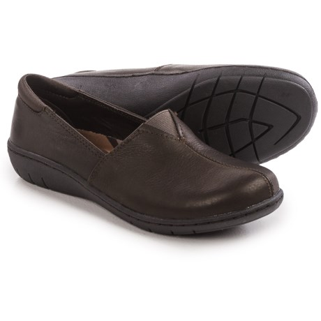 Skechers Relaxed-Fit Washington Seattle Shoes - Leather, Slip-Ons (For Women)