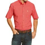 Ariat Jameson Print Western Shirt - Button Front, Short Sleeve (For Men)