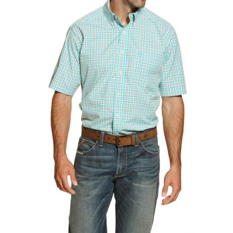 Ariat Jaxson High-Performance Plaid Shirt - Short Sleeve (For Men and Tall Men)