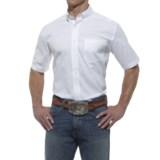 Ariat High-Performance Poplin Shirt - Short Sleeve (For Men)