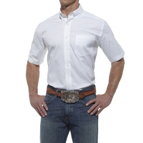Ariat High-Performance Poplin Shirt - Short Sleeve (For Men)