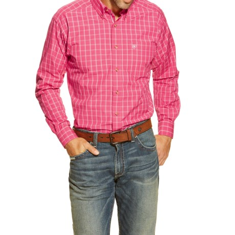 Ariat Halbert High-Performance Western Shirt - Long Sleeve (For Men)