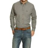 Ariat Dayton High-Performance Plaid Shirt - Button Front, Long Sleeve (For Men)
