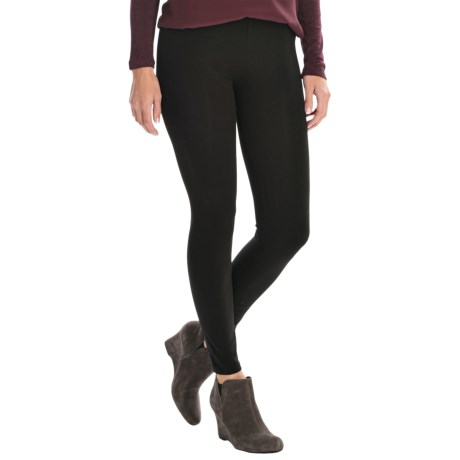 Essential Ankle Leggings - Stretch Cotton Jersey (For Women)