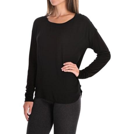 Mixed Media Shirt - Long Sleeve (For Women)