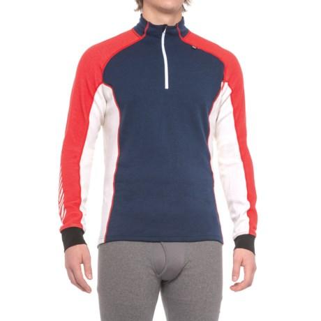 Helly Hansen Warm Freeze Base Layer Top - Zip Neck, Long Sleeve (For Men)