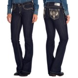 Ariat Turquoise Angel Jeans - Low Rise, Bootcut (For Women)