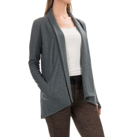 RBX Fly Away Cardigan Shirt - Open Front, Long Sleeve (For Women)