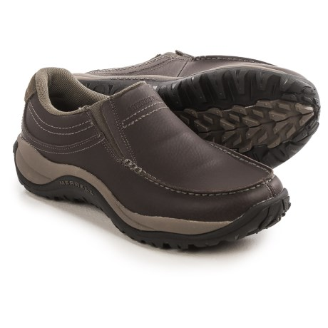 Merrell Reflex Moc Shoes - Leather, Slip-Ons (For Men)