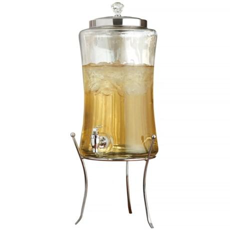 Style Setter Diamond Beverage Dispenser with Stand - 220 fl.oz.