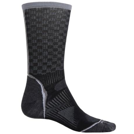 SmartWool PhD Cycle Ultralight Pattern Socks - Merino Wool, Crew (For Men and Women)