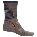 SmartWool PhD Outdoor Ultralight Pattern Socks - Merino Wool, Crew (For Men and Women)