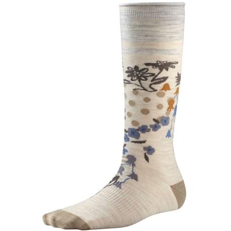 SmartWool Everlasting Eden Socks - Merino Wool, Mid Calf (For Women)