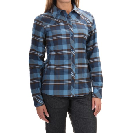 Club Ride Juliet Flannel Cycling Jersey - UPF 40, Long Sleeve (For Women)