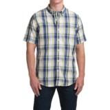 Timberland Large Check Shirt - Short Sleeve (For Men)