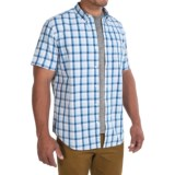 Timberland Perry Stream Madras Shirt - Short Sleeve (For Men)