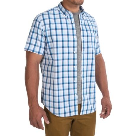 Timberland Perry Stream Madras Shirt - Short Sleeve (For Men)