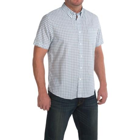 Timberland Mini-Check Shirt - Short Sleeve (For Men)