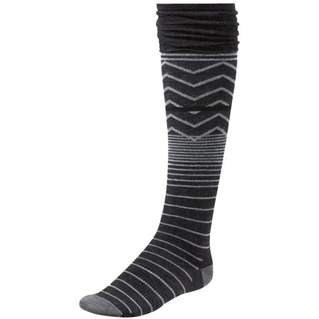 SmartWool Metallic Optic Frills Socks - Merino Wool, Over the Knee (For Women)