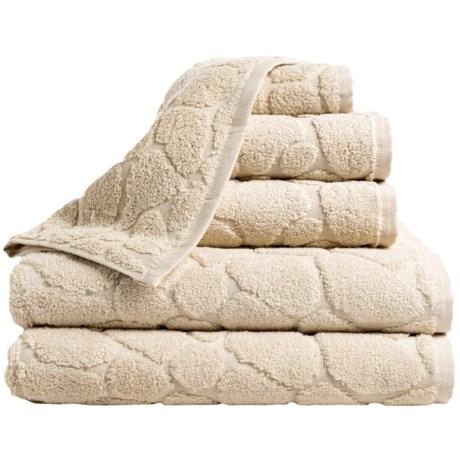 Espalma Pebble Bath Towel Set - Zero-Twist Cotton, 6-Piece