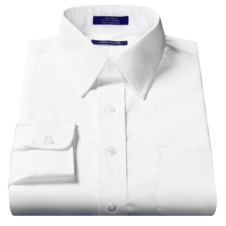 Pinpoint Oxford Dress Shirt - Long Sleeve (For Men)