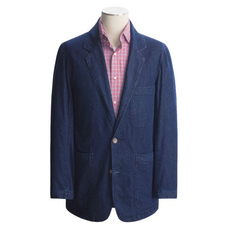 Denim Sport Coat (For Men)