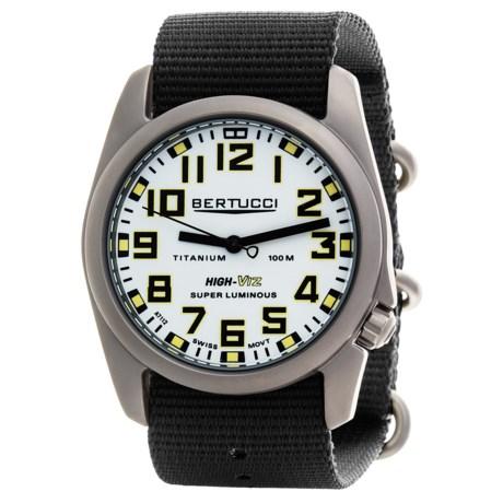 Bertucci A-4T High-Viz Super Luminous Field Watch (For Men)