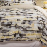Christy Watercolour Cotton Sateen Duvet Cover - Queen, 300 TC