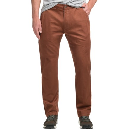 Flylow Wallace Chino Pants - Cotton Blend (For Men) in Redwood - Closeouts