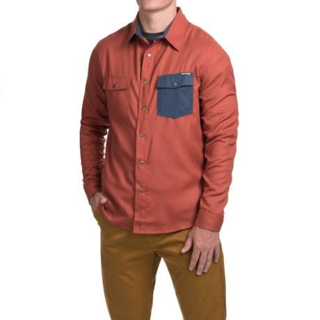 Flylow Handlebar Tech Flannel Shirt - Snap Front, Long Sleeve (For Men)