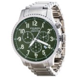 Filson Mackinaw Field Chronograph Watch - Stainless Steel Band (For Men)