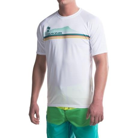DaKine Waterman Rash Guard - UPF 50+, Short Sleeve (For Men)