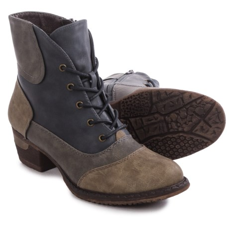 Rieker Bernadette 14 Boots - Vegan Leather (For Women)