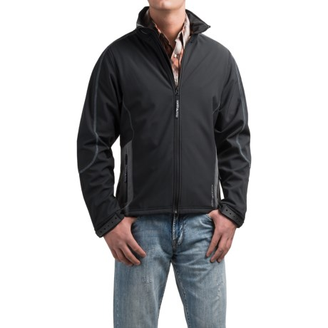 Powder River Outfitters Mariner Soft Shell Jacket - Full Zip, Fleece (For Men)