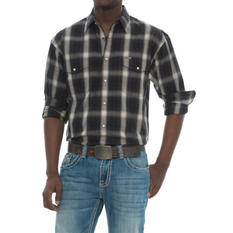 Powder River Outfitters Outfitters Bandera Plaid Shirt - Snap Front, Long Sleeve (For Men)
