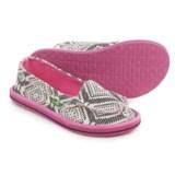 Sanuk Light Bright Moc Shoes - Slip-Ons (For Little and Big Girls)
