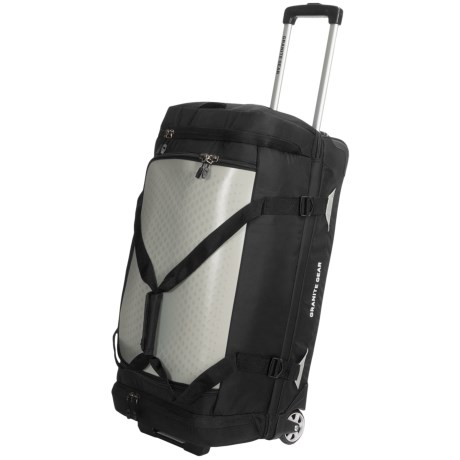 "Granite Gear Reticu-Lite 28"" Rolling Drop-Bottom Duffel Bag"