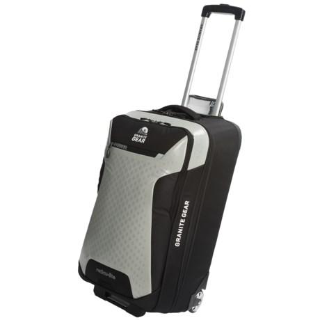 """Granite Gear Reticulite Rolling Upright Suitcase - 26"""""""