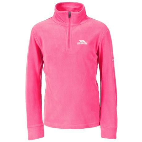 Trespass Louviers Fleece Jacket - Zip Neck (For Little and Big Girls)