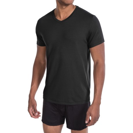 Tahari Pima Cotton Blend Jersey T-Shirt - V-Neck, Short Sleeve (For Men)