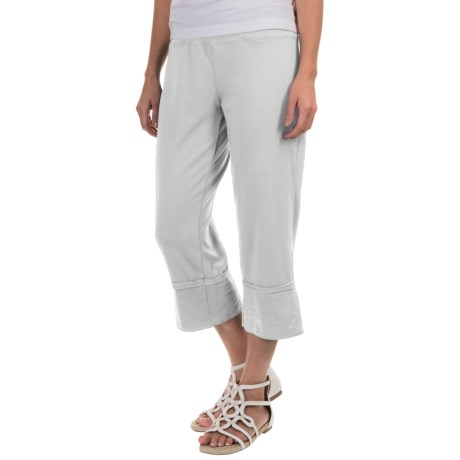 Neon Buddha Roberta Capris - Stretch Cotton (For Women)