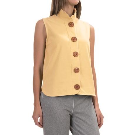 Neon Buddha Nirvana Shirt - Stretch Cotton, Sleeveless (For Women)